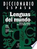 libro Diccionario Espasa Lenguas Del Mundo