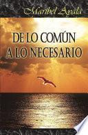 libro De Lo Com£n A Lo Necesario