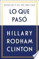 libro Lo Que Pasó