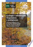 libro EcologÍa I: IntroducciÓn. Organismos Y Poblaciones