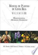 libro Manual De Plantas De Costa Rica: Monocotiledóneas (orchidaceae-zingiberaceae)