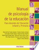 libro Manual De Psicología De La Educación