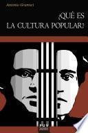 libro ¿qué Es La Cultura Popular?