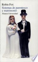 libro Sistemas De Parentesco Y Matrimonio