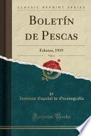libro Boletín De Pescas, Vol. 4