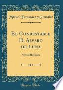 libro El Condestable D. Alvaro De Luna