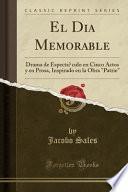 libro El Día Memorable