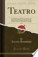 libro Teatro, Vol. 16