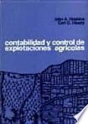 libro Contabilidad Y Control De Explotaciones Agrícolas