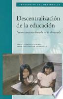 libro Decentralization Of Education