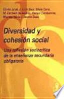 libro Diversidad Y Cohesión Social
