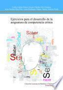 libro Ejercicios Para El Desarrollo De La Asignatura De Competencia Critica