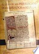 libro El Libro De Los Privilegios De Los Jurados De Sevilla