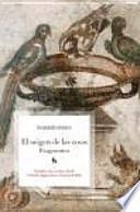 libro El Origen De Las Cosas