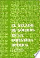 libro El Secado De Sólidos En La Industria Química