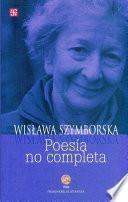libro Poesía No Completa