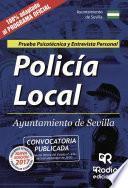 libro Policía Local. Ayuntamiento De Sevilla. Prueba Psicotécnica Y Entrevista Personal