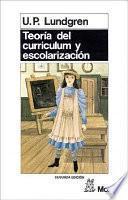 libro Teoría Del Curriculum Y Escolarización