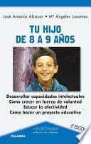libro Tu Hijo De 8 A 9 Años