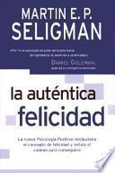 libro La Auténtica Felicidad