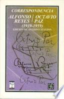 libro Correspondencia Alfonso Reyes/octavio Paz