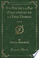 libro En Pos De La Paz (pequeñeces De La Vida Diaria)