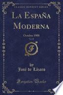 libro La España Moderna, Vol. 20
