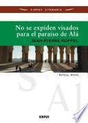 libro No Se Expiden Visados Para El Paraíso De Alá
