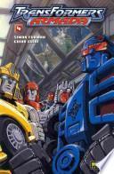 libro Transformers Armada 4