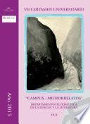 libro Vii Certamen Universitario Campus Microrrelatos