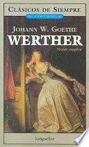libro Werther / Werther
