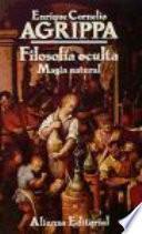 libro Filosofía Oculta, Magia Natural
