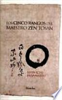 libro Los Cinco Rangos Del Maestro Zen Tosan