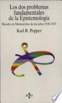 libro Los Dos Problemas Fundamentales De La Epistemología