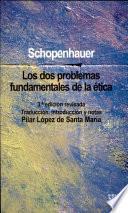 libro Los Dos Problemas Fundamentales De La ética