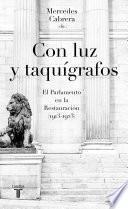 libro Con Luz Y Taquígrafos