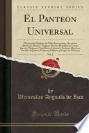 libro El Panteon Universal, Vol. 2