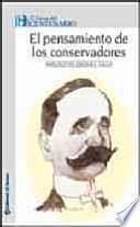 libro El Pensamiento De Los Conservadores