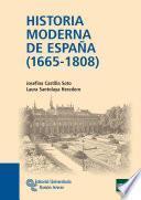libro Historia Moderna De España (1665   1808)