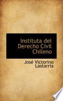 libro Instituta Del Derecho Civil Chileno