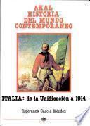 libro Italia Desde La Unificación Hasta 1914