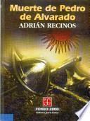 libro Muerte De Pedro De Alvarado