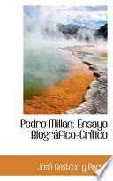 libro Pedro Millan