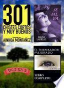 libro 301 Chistes Cortos Y Muy Buenos + Se Me Va + El Inspirador Mejorado