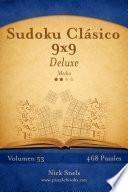 libro Sudoku Clásico 9x9 Deluxe   Medio   Volumen 53   468 Puzzles