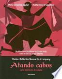 libro Atando Cabos / Shipping News Student Activities Manual