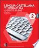 libro Cutr Cuaderno De Refuerzo Lengua Y Literatura 2