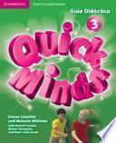 libro Quick Minds Level 3 Guía Didáctica