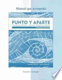 libro Workbook/laboratory Manual For Punto Y Aparte: Expanded Edition