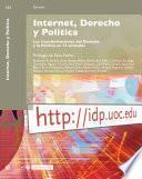 libro Internet, Derecho Y Politica/ Internet, Right And Politics